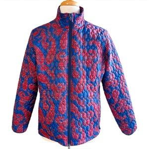 Lands End Lightweight Quilted Jacket Size XL